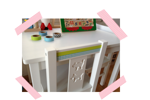Ikea Kindertisch pimpen
