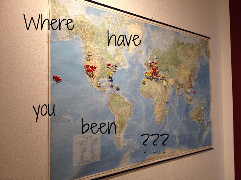 Landkarten Pinnwand Selbst Machen Cuchikind