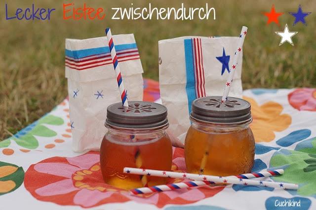 Eistee Picknick