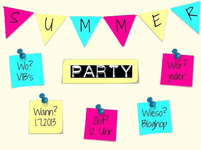 Dateivorlage Summerparty
