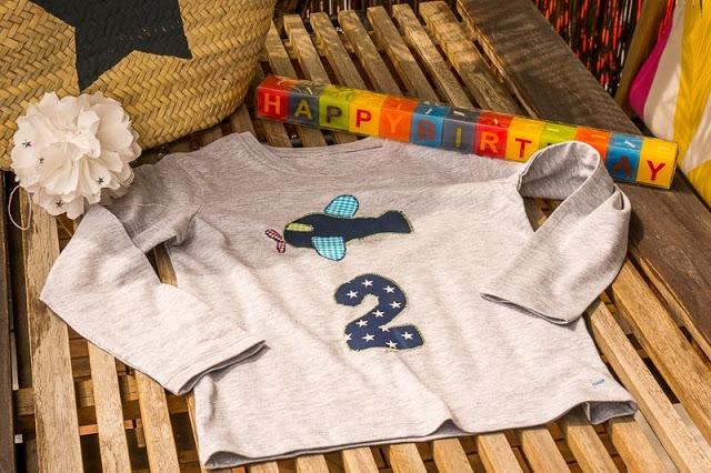 Geburtstagsshirt nähen