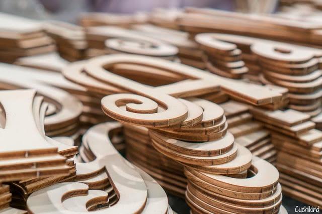 Holzbuchstaben
