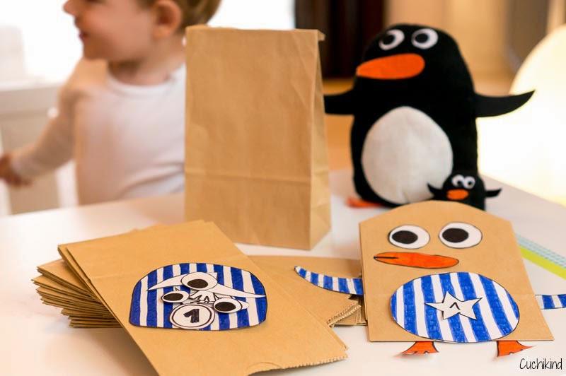 Tutorial Pinguin Adventskalender Für Kinder Cuchikind