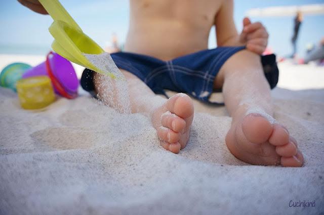 Florida mit Kleinkind