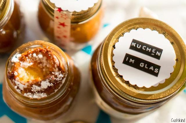 Honigkuchen im Glas