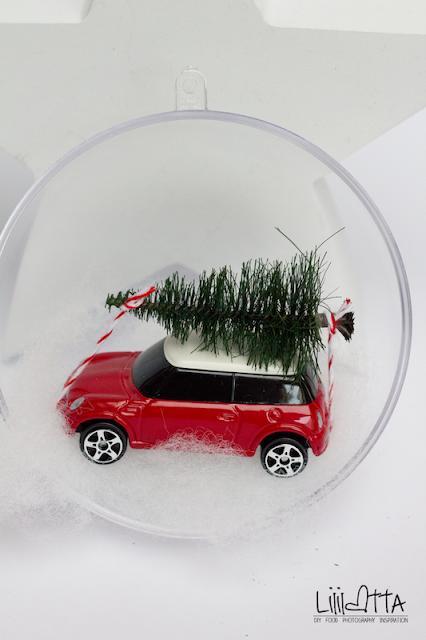 Weihnachtskugel Auto