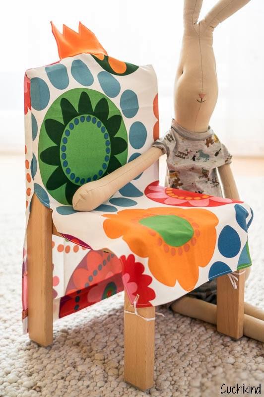 Favorit Stuhlhusse für Kinder nähen - Cuchikind QG41