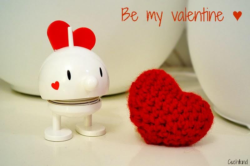 Herz häkeln zum Valentinstag