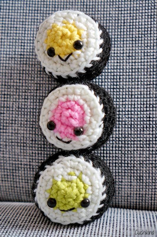 Sushi häkeln