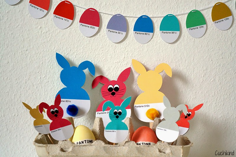 Basteln mit Kindern zu Ostern
