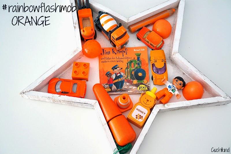 rainbowflashmob orange