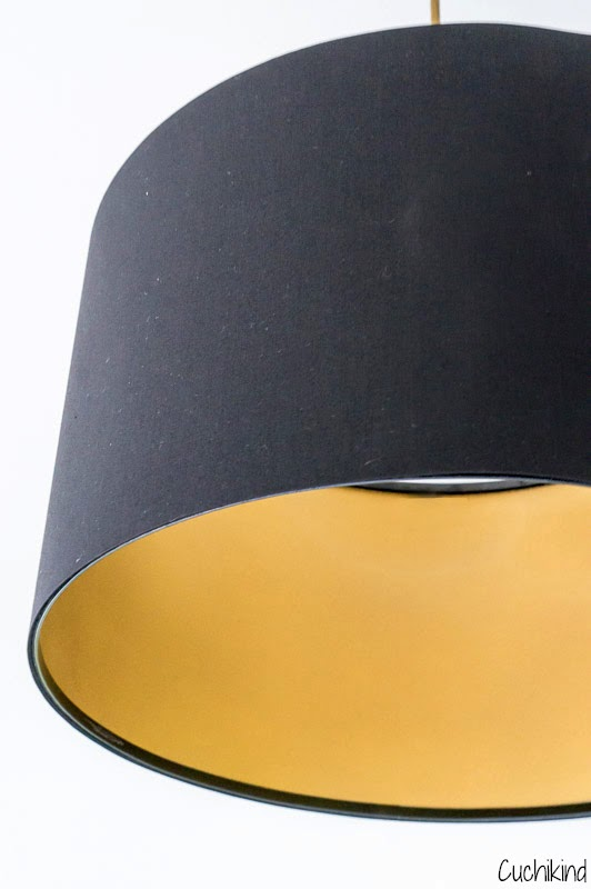 Ikea Hack Goldlampe Cuchikind