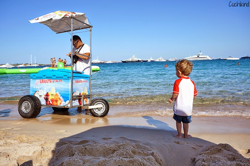 Eiswagen am Meer