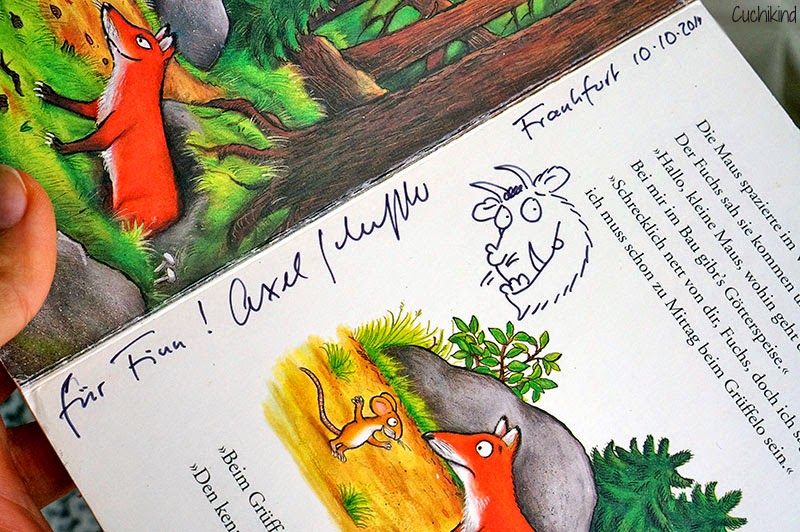Autogramm Axel Scheffler