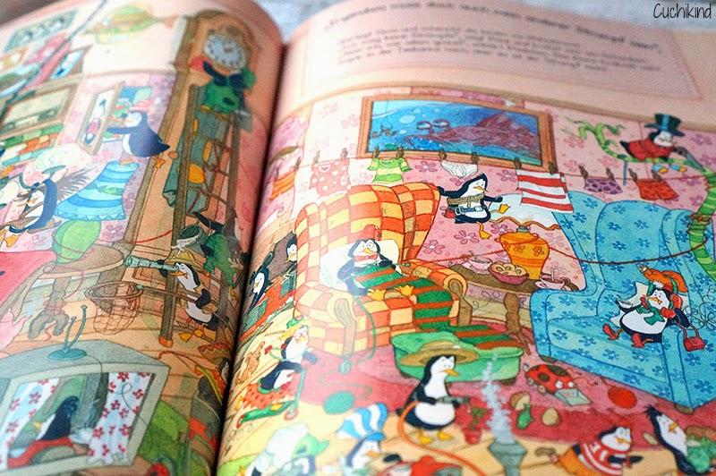 Pinguin-Wimmelbuch