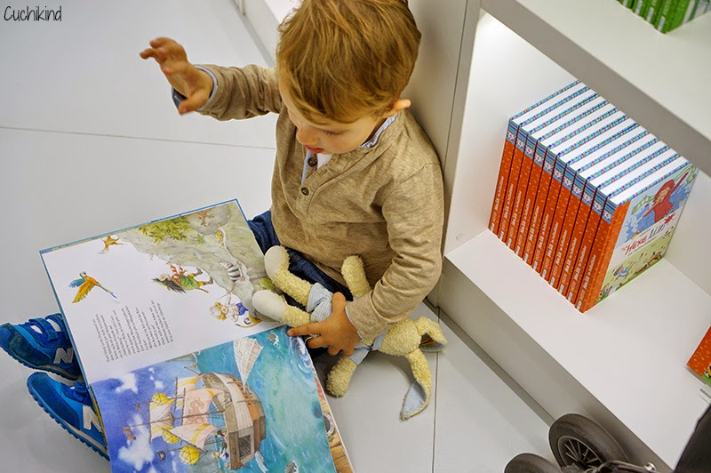 Finn beim Arena-Verlag auf der Buchmesse 2014