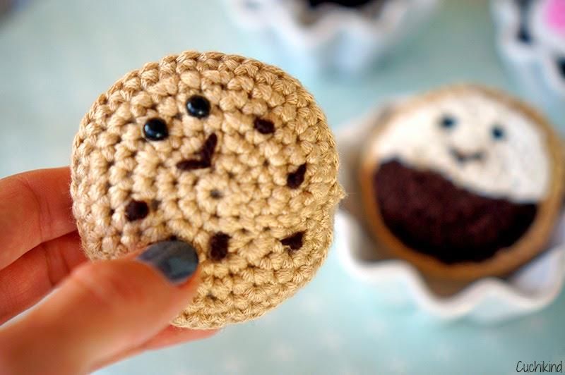 Häkel Food 3 Kekse Cuchikind