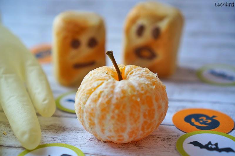 Mandarine als Kürbis