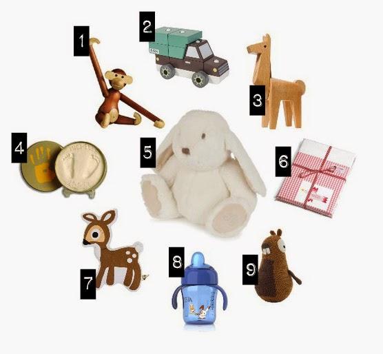 Geschenkideen für Babys (Abbildungen)