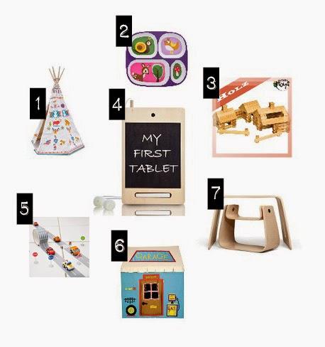 Geschenkideen für Kinder (Abbildungen)