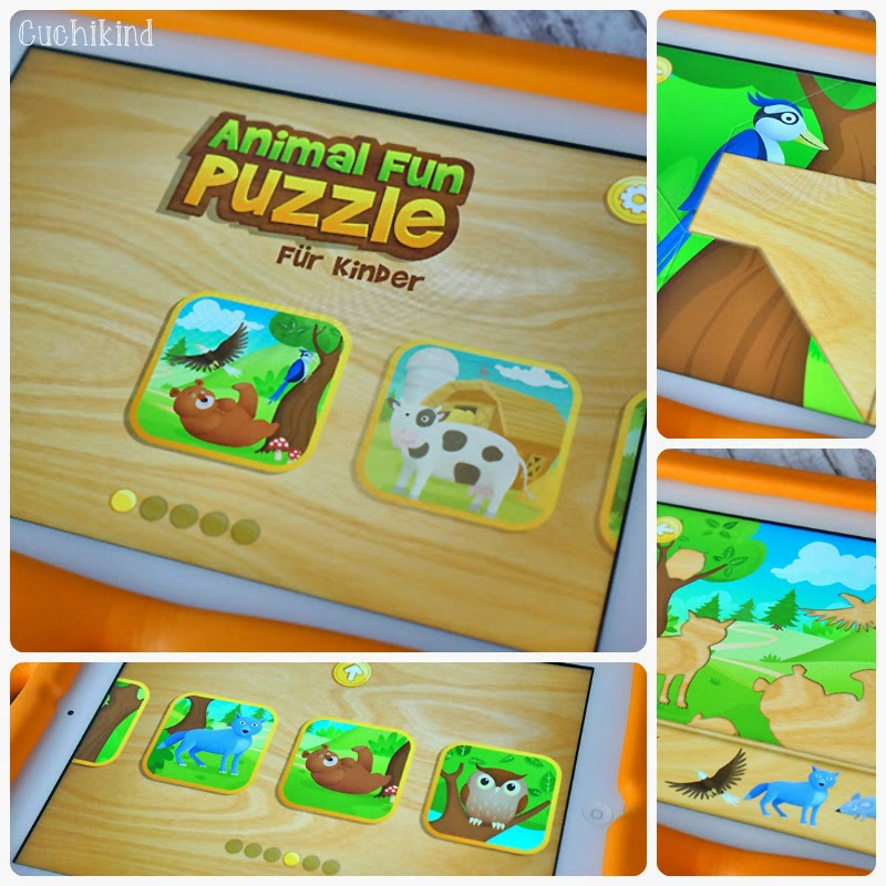 Animal Fun Puzzle App