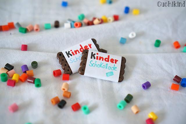 Bügelperlen Kinderschokolade