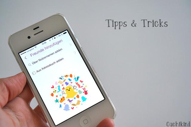 tipps und Tricks für Snapchat