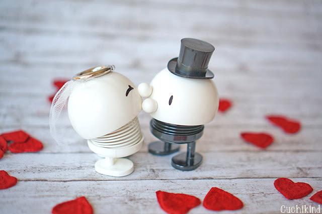 Braut und Bräutigam Deko
