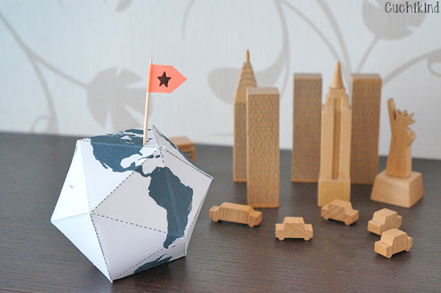 Globus basteln