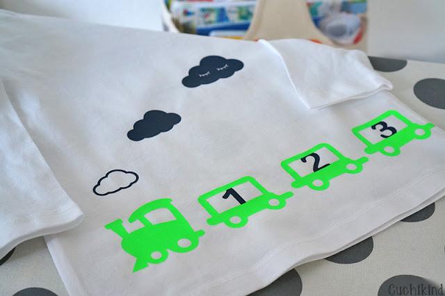 Kindershirt plotten