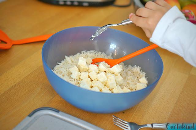 Reisrezepte für Kinder