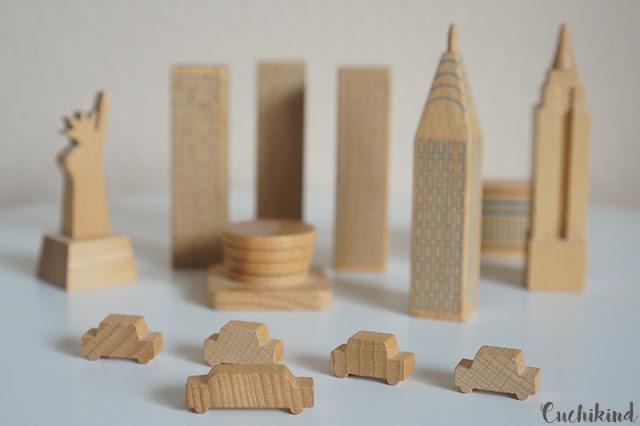 New York aus Holz