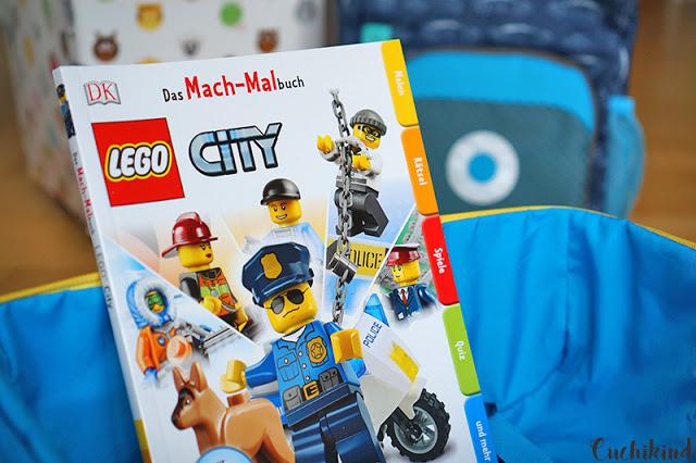 Mach-Malbuch von Lego
