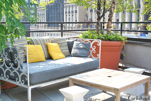 Dachterrasse New York