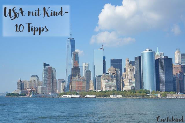 USA mit Kleinkind Tipps