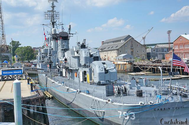 Kriegsschiff Boston