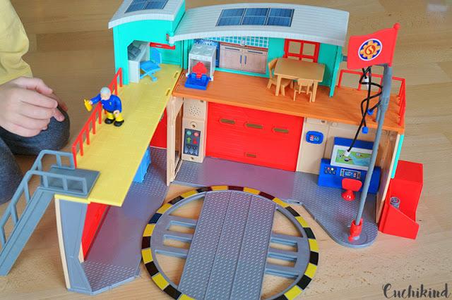Feuerwehrmann Sam Feuerwehrstation