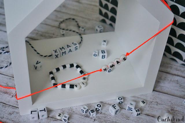 Buchstabenperlen DIY
