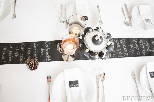 Festtafel dekorieren