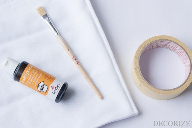 Anleitung Servietten Tafelfarbe