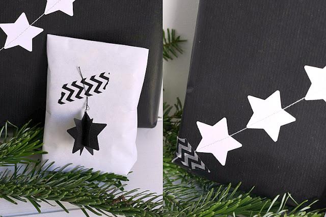 Sternenanhänger Papier
