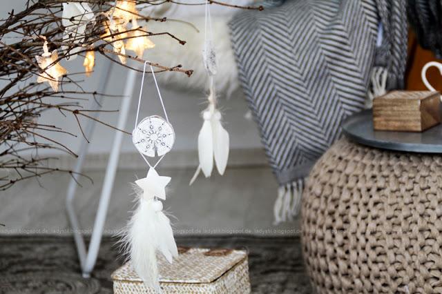 Mandala Weihnachtsanhänger