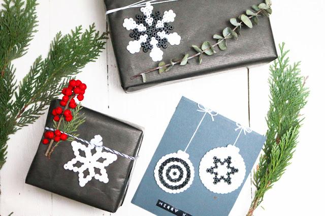 Bügelperlen Geschenkverpackung