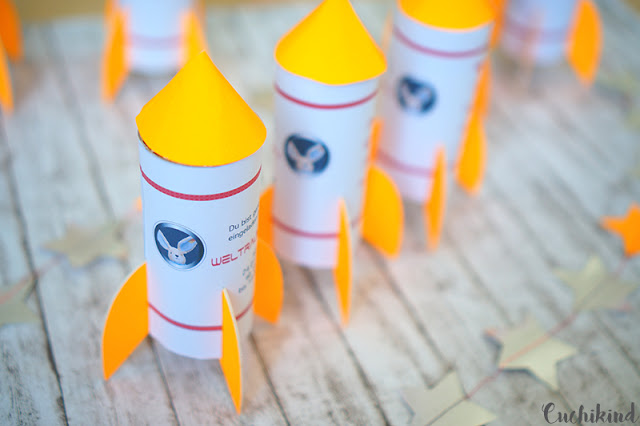 Rakete basteln