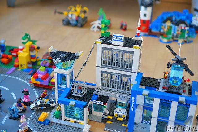 Polizeistation Lego
