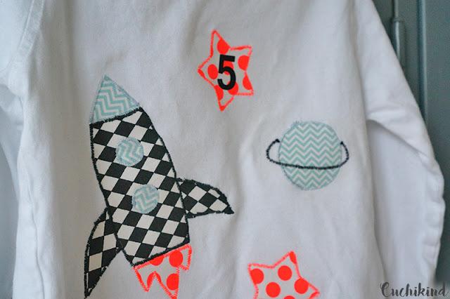 Geburtstagsshirt zum 5. Geburtstag