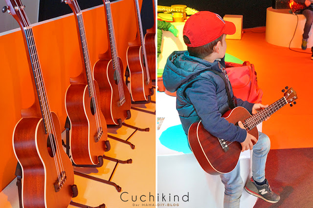 Musikmesse mit Kindern