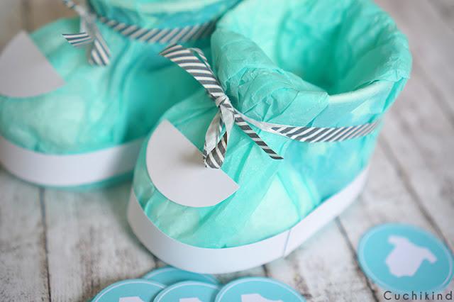 Babyshower mint