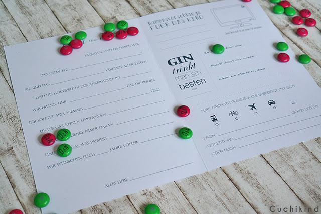 Fragebogen Hochzeit