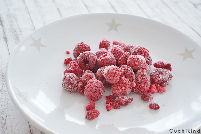 Gefrorene Früchte gegen Übelkeit